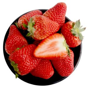 京觅红颜奶油草莓约重1kg/30-40颗*6件+凑单品 358.3元(合59.72元/件)