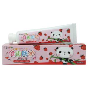 LG竹盐齿健防护6-9岁换牙期儿童牙膏草莓味40g*5件 29元(合5.8元/件)