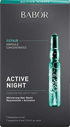 BABOR芭宝Active Night新夜间深层滋养修复抗老安瓶精华液2ml*7支178.31元