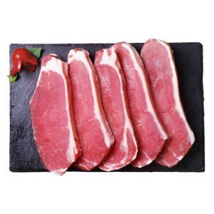 伊赛 澳洲西冷牛排套餐 750g/袋 5片装 整切调理 草饲牛肉 健身推荐 *3件