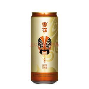 雪花啤酒(Snowbeer)11.5度 脸谱 500ml*12听 整箱装 *2件258元(合129元/件)
