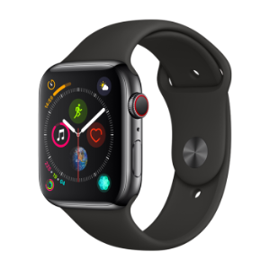 Apple 苹果 Apple Watch Series 4苹果智能手表(深空灰铝金属、GPS+蜂窝、44mm、黑色运动型表带) 3949元