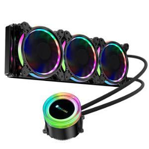 乔思伯(JONSBO)TW2-360(601版)一体式CPU水冷散热器(RGB七彩流光冷头/360冷排/3*12CM温控风扇/带硅脂) 499元