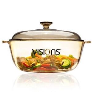 VISIONS 康宁 VS-4L-HD 晶彩透明汤锅 4L 299元包邮(前300件)