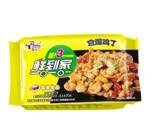 福成鲜到家 宫爆鸡丁 370g9.9元