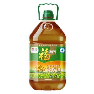 京东PLUS会员:福临门 非转压榨家香味AE浓香营养菜籽油4L 39.8元