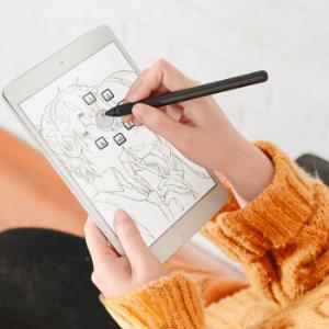 派滋 手机ipad电容笔 细头触控触屏 平板电脑绘画笔surface 手机通用苹果安卓画画手写笔指绘pro 墨黑色29元