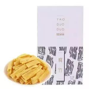 姚朵朵 腐竹 干货黄豆制品腐皮 盒装腐竹段食用方便228g *8件63.6元(合7.95元/件)