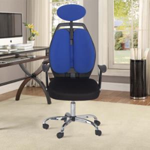 雅客集FB-16020BU办公椅蓝色*2件 416.4元(合208.2元/件)