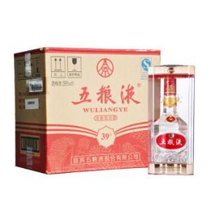 五粮液低度39度浓香型白酒500ml*6整箱装 3145元