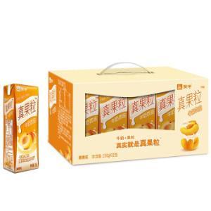 蒙牛 真果粒牛奶饮品(桃果粒)250g*12 礼盒装 25.42元