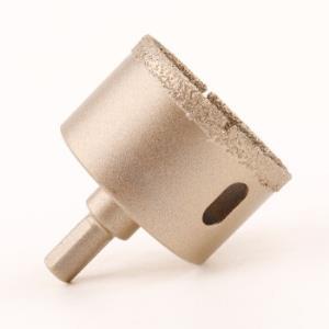 励图 钎焊金刚石开孔器大理石陶瓷砖玻璃鹅卵石混凝土开口钻头打孔器 6mm