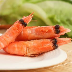 Sirena 原装进口熟冻头籽头膏 加拿大北极虾头籽甜虾2.5kg 礼盒装269元