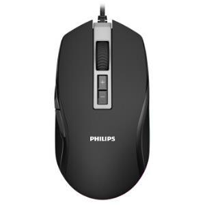 PHILIPS 飞利浦 SPK9212 有线鼠标 6400DPI电竞游戏 79元包邮
