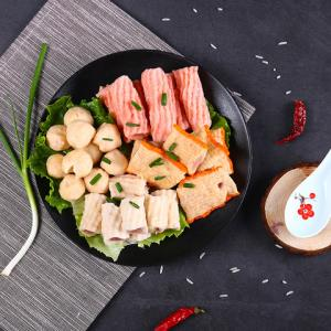 迪亚斯 深海鱼丸组合包500g 火锅食材麻辣烫关东煮火锅丸子豆捞烧烤食材海鲜味 袋装 丸子14.4元
