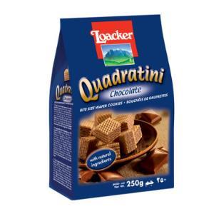 Loacker莱家粒粒装威化巧克力味250g19.9元,可满169-30