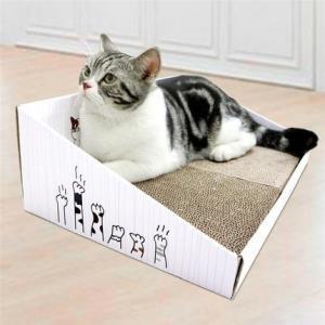 得酷彩盒猫抓板2款可选 9.9元包邮(需用券)
