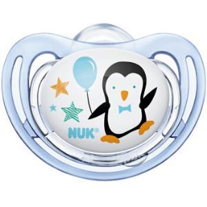 NUK舒适型硅胶安抚奶嘴0-6个月*4件