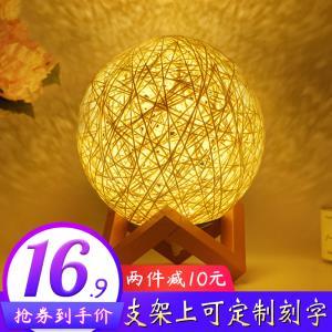 天利 藤球灯 小夜灯 15cm 送底座  ¥15