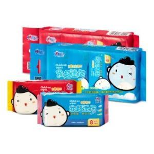 心相印迷弟超迷你儿童湿巾8片8包超迷你小包装便携随身装湿纸巾*2件    22.24元(合11.12元/件)