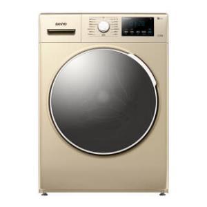 三洋(SANYO) WF100BI576SJ 10公斤 变频滚筒洗衣机  1999元