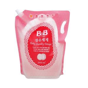 88VIP:保宁(B&B) 婴幼儿洗衣液补充装 2100ml *2件  66.3元(合33.15元/件)