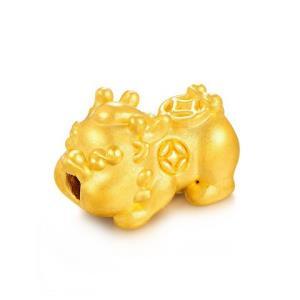 赛菲尔 3D硬金 黄金貔貅转运珠 365元