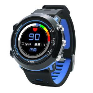 宜准(EZON) 户外智能运动手表男时尚多功能动态光心率防水跑步马拉松计步GPS定位表 E2A14 635元
