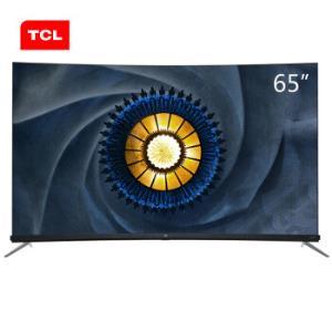 历史低价:TCL65Q765英寸曲面4K液晶电视 4699元包邮(需用券)