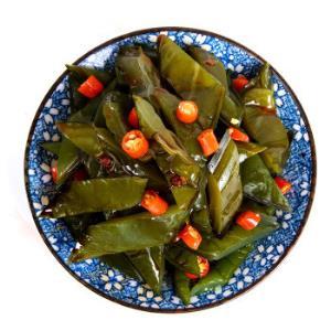 廖记棒棒鸡 麻辣即食下饭菜海白菜 190g *8件76.4元(合9.55元/件)
