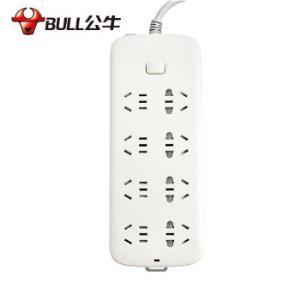 公牛(BULL)GN-S1080 3M新国标 公牛插座排插线板插排接线板电源转换器插板家用拖线板119元