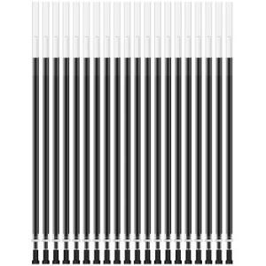得力(deli)0.38mm全针管黑色中性笔笔芯水笔签字笔替芯20支/盒*15件 102.5元(合6.83元/件)