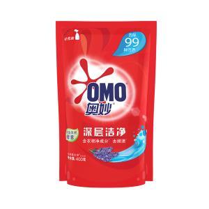 奥妙洗衣液 深层洁净 源自天然酵素 400G 新老包装随机发送  15.8元