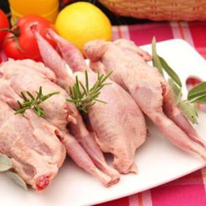 农家散养鹌鹑肉 新鲜野味 杀前约125g/只 6只装 *2件 88元(合44元/件)
