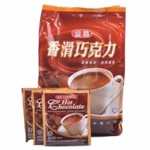 马来西亚进口 益昌香滑巧克力袋装600g *3件 91.4元(合30.47元/件)