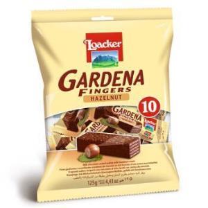 莱家(Loacker)莱家加迪纳榛子巧克力手指饼 125g *8件 130元(合16.25元/件)