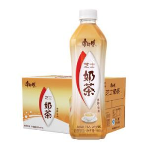 康师傅奶茶饮料芝士味500ml*15瓶整箱装(新老包装随机发货)*2件 75.42元(合37.71元/件)