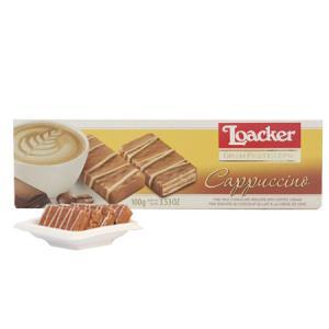 莱家(Loacker)莱家巧克力点心(牛奶咖啡味巧克力制品)100g19.9元
