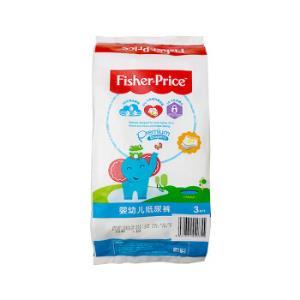 费雪(fisher-price)天赋系列婴幼儿纸尿裤 大号L 3片旅行装 超薄干爽透气4.9元