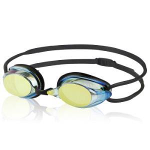英发(YINGFA) 泳镜 竞速比赛训练镀膜小镜框青少年男女游泳眼镜 Y570AFM 黑色 *3件147元(合49元/件)
