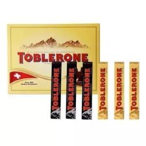 TOBLERONE  瑞士三角 巧克力精装礼盒 600g *2件 115.35元包邮(需用券)