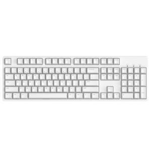 iKBCC104有线机械键盘104键Cherry轴白色243.6元
