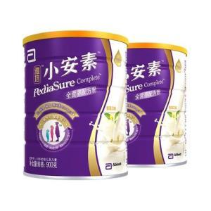 2罐装雅培(Abbott)小安素全营养配方粉香草味900g罐装(适合1岁以上挑食偏食宝宝)*2 322元