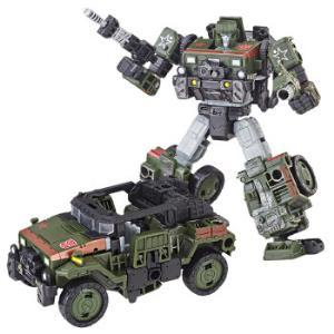 孩之宝(Hasbro)变形金刚 男孩儿童玩具礼物 决战塞伯坦 加强级 S9 探长E3537 *4件336元(合84元/件)