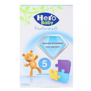 Hero Baby 荷兰天赋力 婴幼儿配方奶粉 5段(2岁以上) 700g/盒 80元