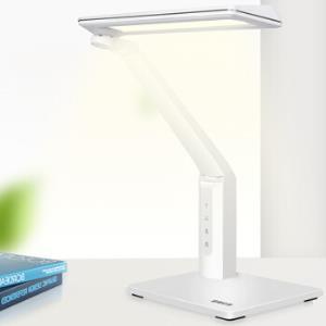 良亮 LED台灯 面光源国A级照度减蓝光学习办公台灯 多级调光调色温 3673 珍珠白 9W *2件188元(合94元/件)
