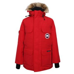 CANADA GOOSE 男士红色连帽欧版RELAXED宽松羽绒服 4565M 11  XL 7660元(需用券)