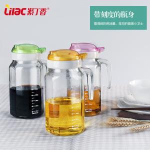 Lilac/紫丁香 玻璃油壶 600ml  10.9元包邮