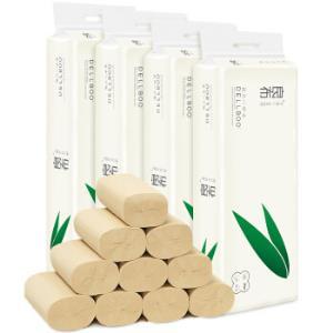 良布(DELLBOO) 竹纤维无芯本色卷纸 加厚4层36卷整箱 *3件 77.3元(需用券,合25.77元/件)