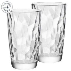 波米欧利意大利进口无铅玻璃杯水杯470mL透明*2支装*3件107元(合35.67元/件)